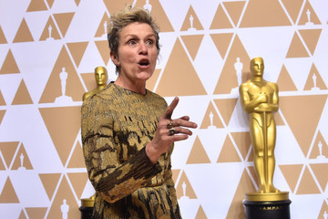 Frances McDormand's Oscar Was Stolen (And Then Recovered) Last Night At The Governors Ball