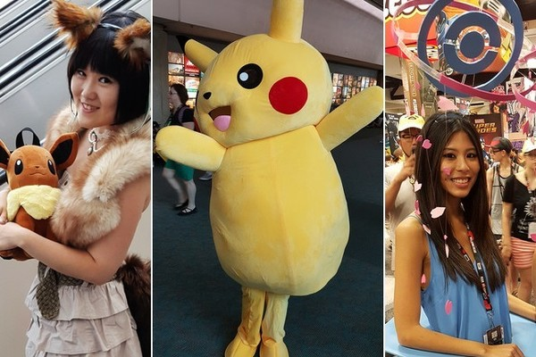 Catching All the 'Pokemon' at Comic-Con