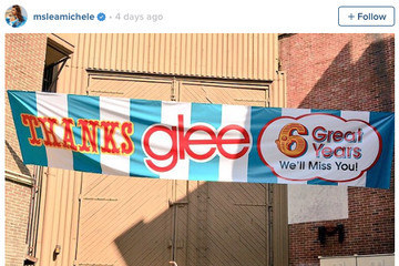 Lea Michele's Final 'Glee' Souvenir Will Make You Cry