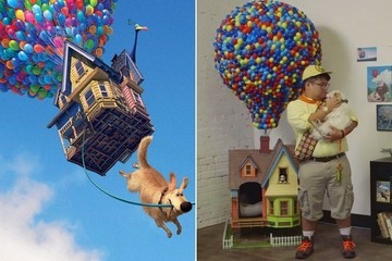 This Dog Has Just Met His 'Up' House, and He Loves It