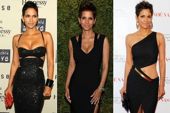 Halle Berry's 6 Best Little Black Dress Moments