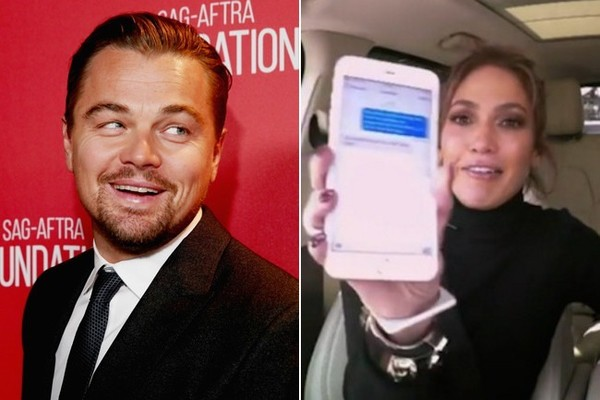 Jennifer Lopez Says Leonardo DiCaprio Was a 'Great Sport' About That 'Carpool Karaoke' Prank