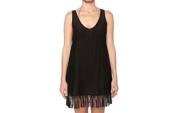StyleBistro STUFF: Cuyana's Sexy, Fringey Beach Cover-Up