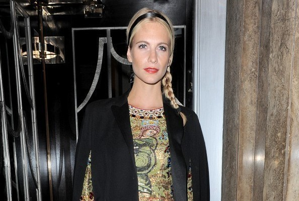 Poppy Delevingne Puts a Fresh Spin on Eveningwear
