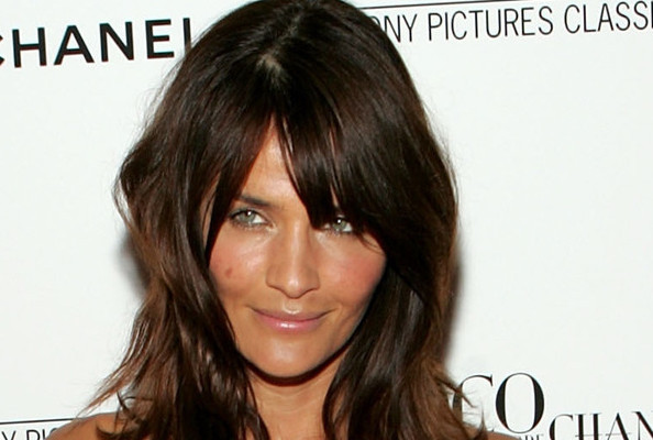 Model Helena Christensen Designs Tote Bag for Charity