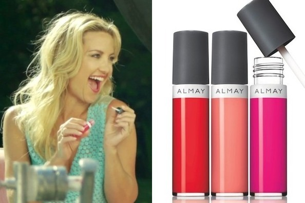 Kate Hudson Gets Bubbly, Talks Love of Lip Balm for Almay [VIDEO]