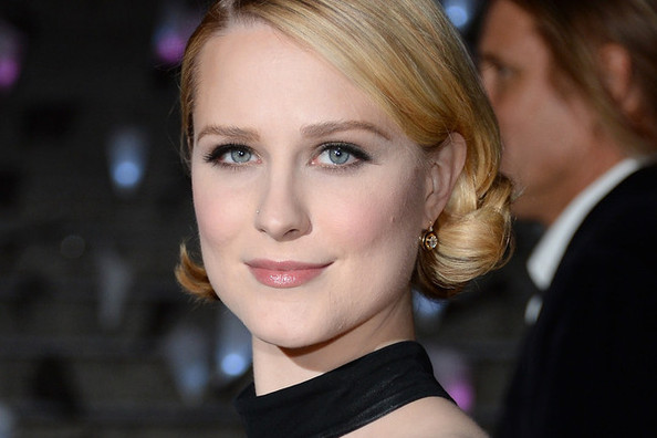 How to Curl Short Hair: Evan Rachel Wood's 'Vanity Fair' Party Look