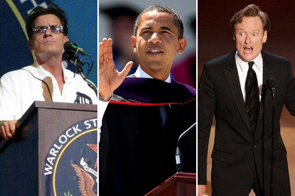 Celebrity Commencement Speakers