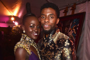 The Stars of 'Black Panther' In and Out of Costume