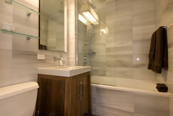 all tile bathroom all tiled out modern bathrooms lonny 10079