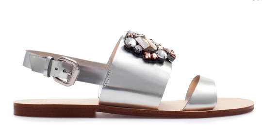 StyleBistro STUFF: Zara's Vaguely-Familiar-But-Not-Really Bejeweled Sandals