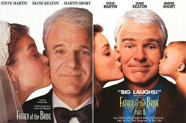 39 father of the bride 39 1991 39 father of the bride part for Father of the bride 2 full movie