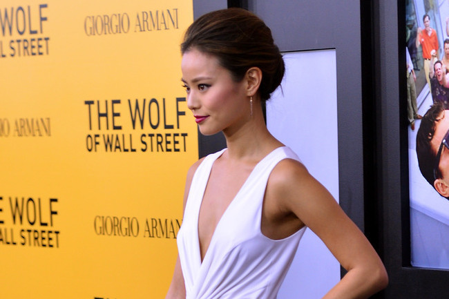 THIS Is How Jamie Chung Winterizes a Little White Dress