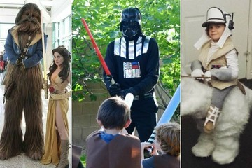 Clever DIY 'Star Wars' Costumes