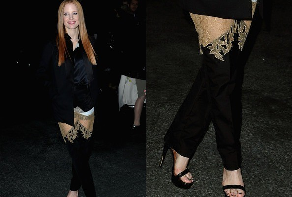 Let's Talk About Jessica Chastain's See-Through Pants