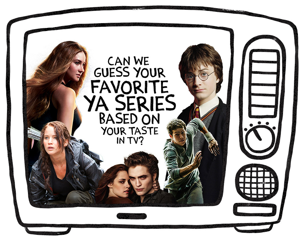 Can We Guess Your Favorite YA Series Based on Your Taste in