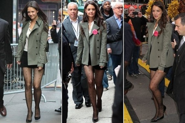 We've Never Noticed Before, But Katie Holmes Has GREAT Legs