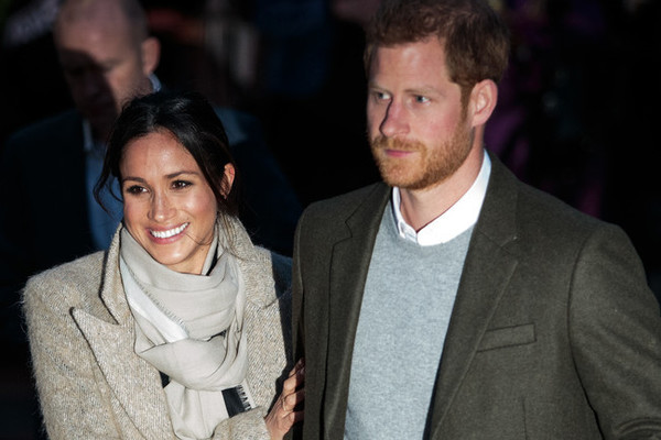 Meghan Markle and Fiancé Prince Harry Attend Their First Official Engagement of 2018
