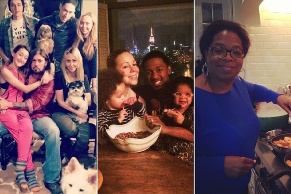 Stars Share Thanksgiving Snaps