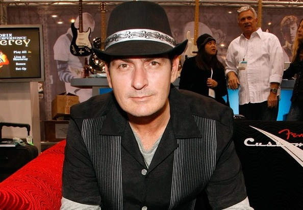 5402a6b93310 Hanes Drops Charlie Sheen From Ad Campaign - Charlie Sheen - Zimbio