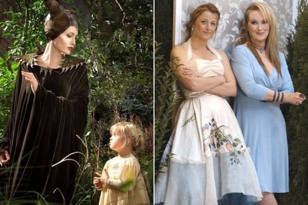 Famous Mothers & Daughters Playing Mothers & Daughters in Movies
