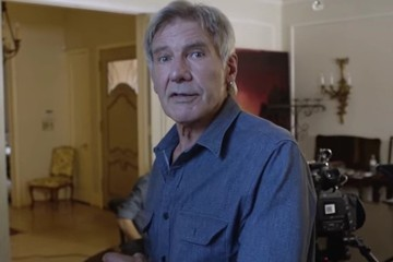 Watch 'Star Wars' Fans Bug at the Sight of Harrison Ford on Skype