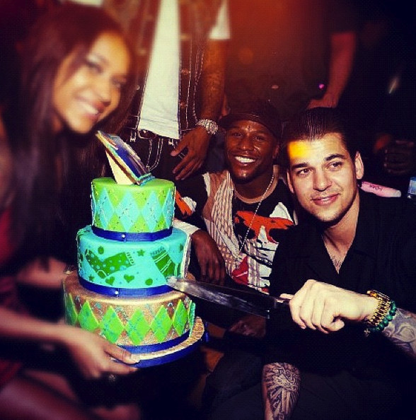 Rob Kardashian The Best Celebrity Birthday Cakes Zimbio