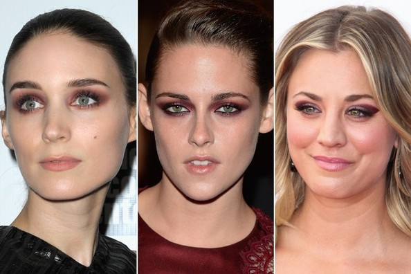 Hot Beauty Trend: Burgundy Lids