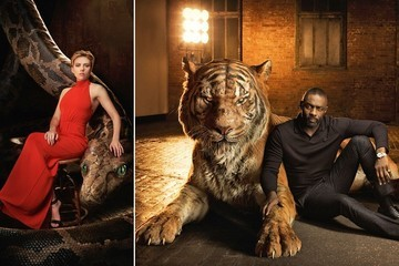 The New Cast Portraits from 'The Jungle Book' Are Wild and Gorgeous