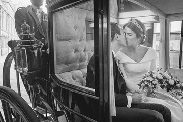 Princess Eugenie And Jack Brooksbank's Official Wedding Portraits Are Intimate And Lovely