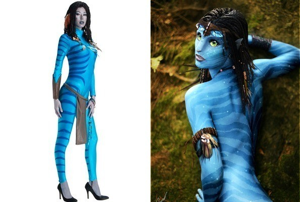 Apologise, hot avatar women halloween costume happens. can