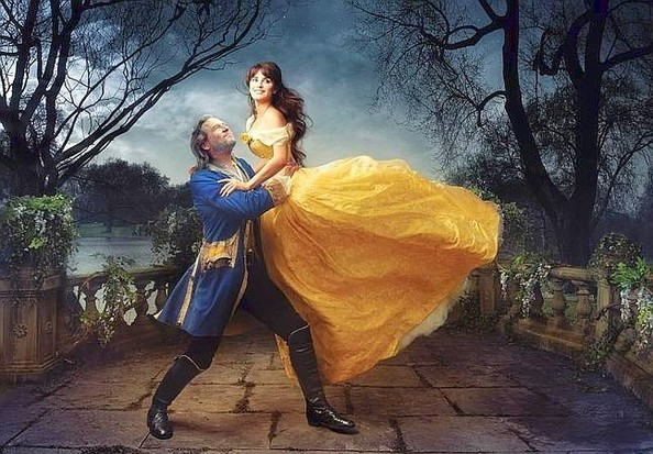= Real-Life Belle and Prince Adam