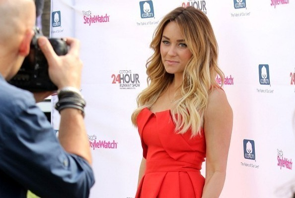 Lauren Conrad's Bright Little Dress