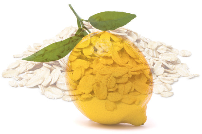 Weekend Beauty Dare: Lemon and Oatmeal Mask