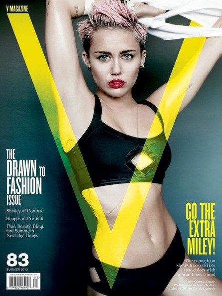 Miley Dresses Up Like Jackie Warner for 'V,' Julia Restoin-Roitfeld's Baby Is Fancier Than You, and More!