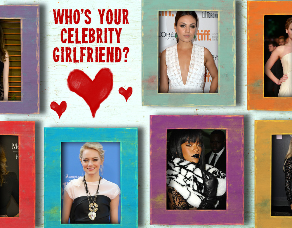 Who's Your Celebrity Girlfriend? | BrainFall