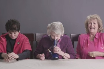 This Is What Happens When Three Grandmas Smoke Pot for the First Time