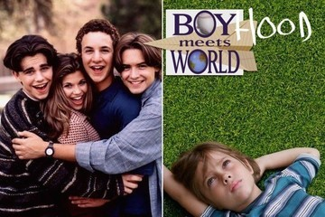 Silly as It Sounds, This 'Boy(hood) Meets World' Mashup Might Give You Goosebumps