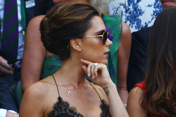 Victoria Beckham Looked So Posh Spice This Weekend