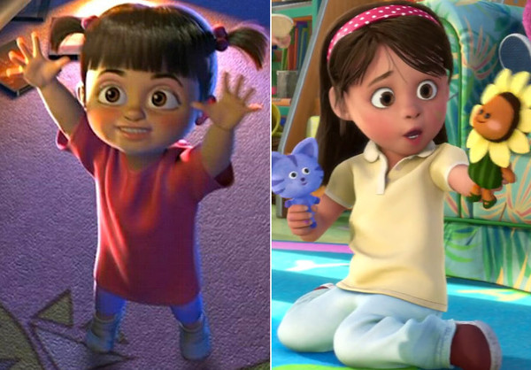 is boo growing up a closer look at pixar s many easter eggs zimbio