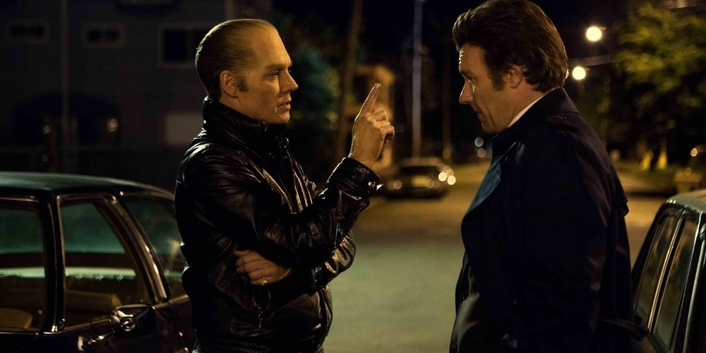 Johnny Depp and Joel Edgerton in Black Mass. (Warner Brothers)