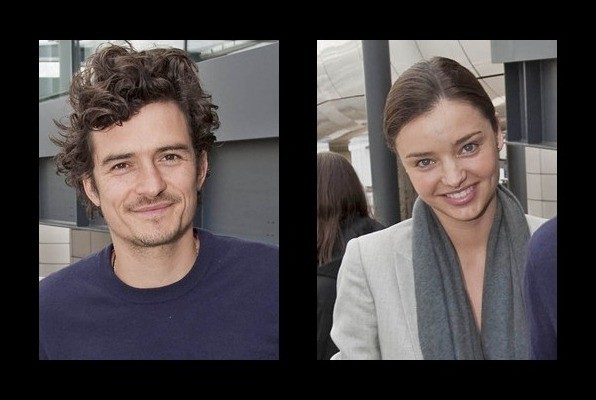 Orlando Bloom is married to Miranda Kerr