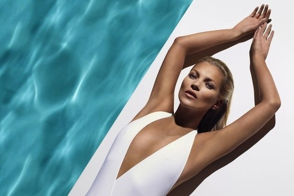 Kate Moss is The New Face (Er, Body) of St. Tropez Tan