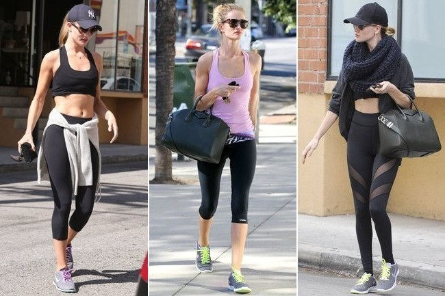Work Out Like Rosie Huntington-Whiteley