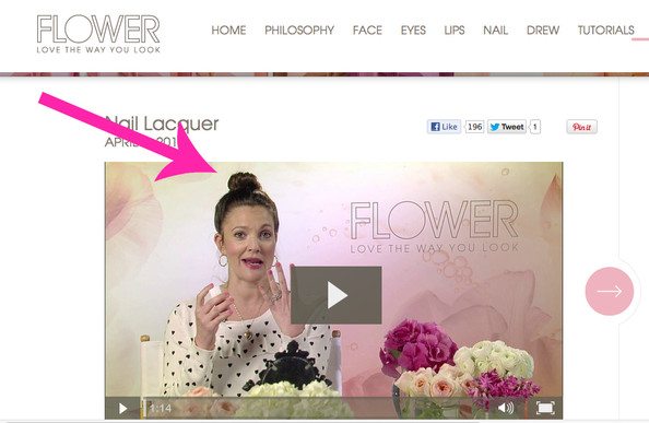 #FF - Drew Barrymore's Beauty Vlog (Get All of Her Makeup Secrets!)