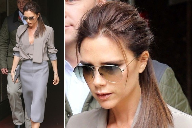 Victoria Beckham Goes Gray For 'Vogue'