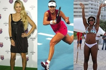 The Hottest Stars of Women's Tennis