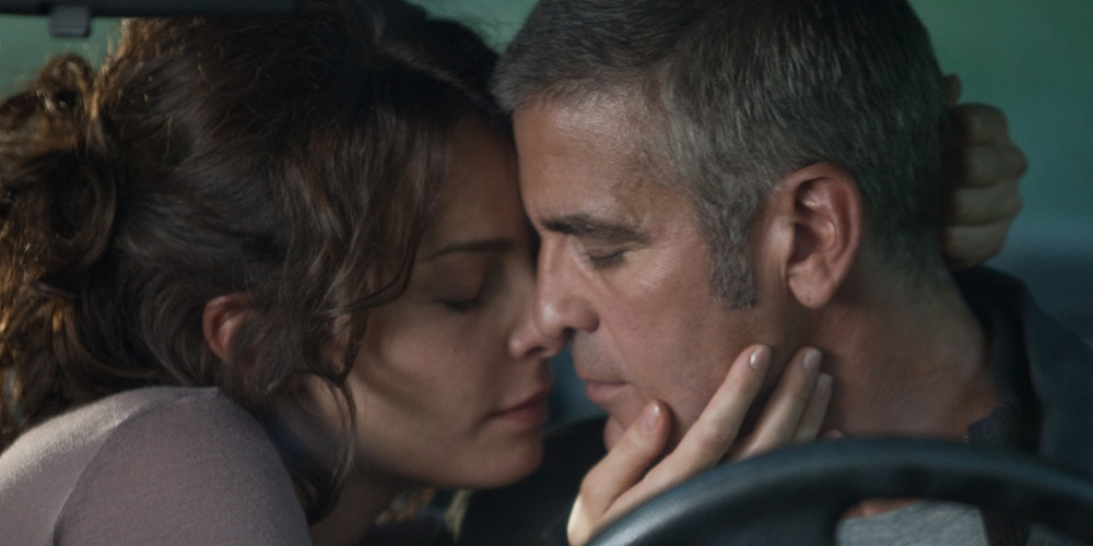 Violante Placido and George Clooney in The American. (Image: Focus Features)