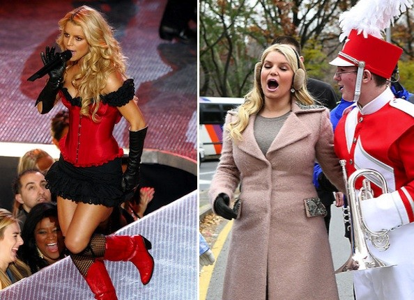 belting out in song   jessica simpson   then and now   zimbio