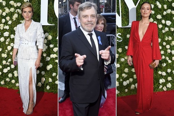 Movie Stars Honor Broadway at Tony Awards 2017